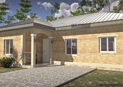 Villa - 4 pièces en écoconstruction - Douala