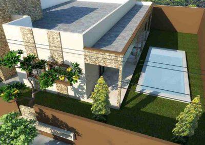 Villa - 4 pièces avec piscine