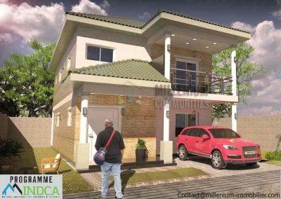 Duplex standing - Yaoundé
