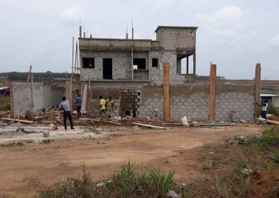 Duplex 5 pièces avec terrasse sur dalle